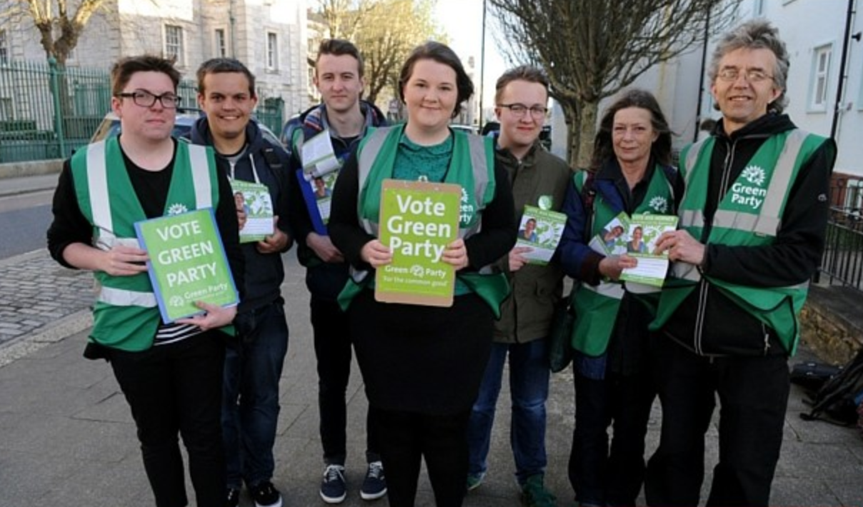 Plymouth Greens on the 2016 election campaign trail